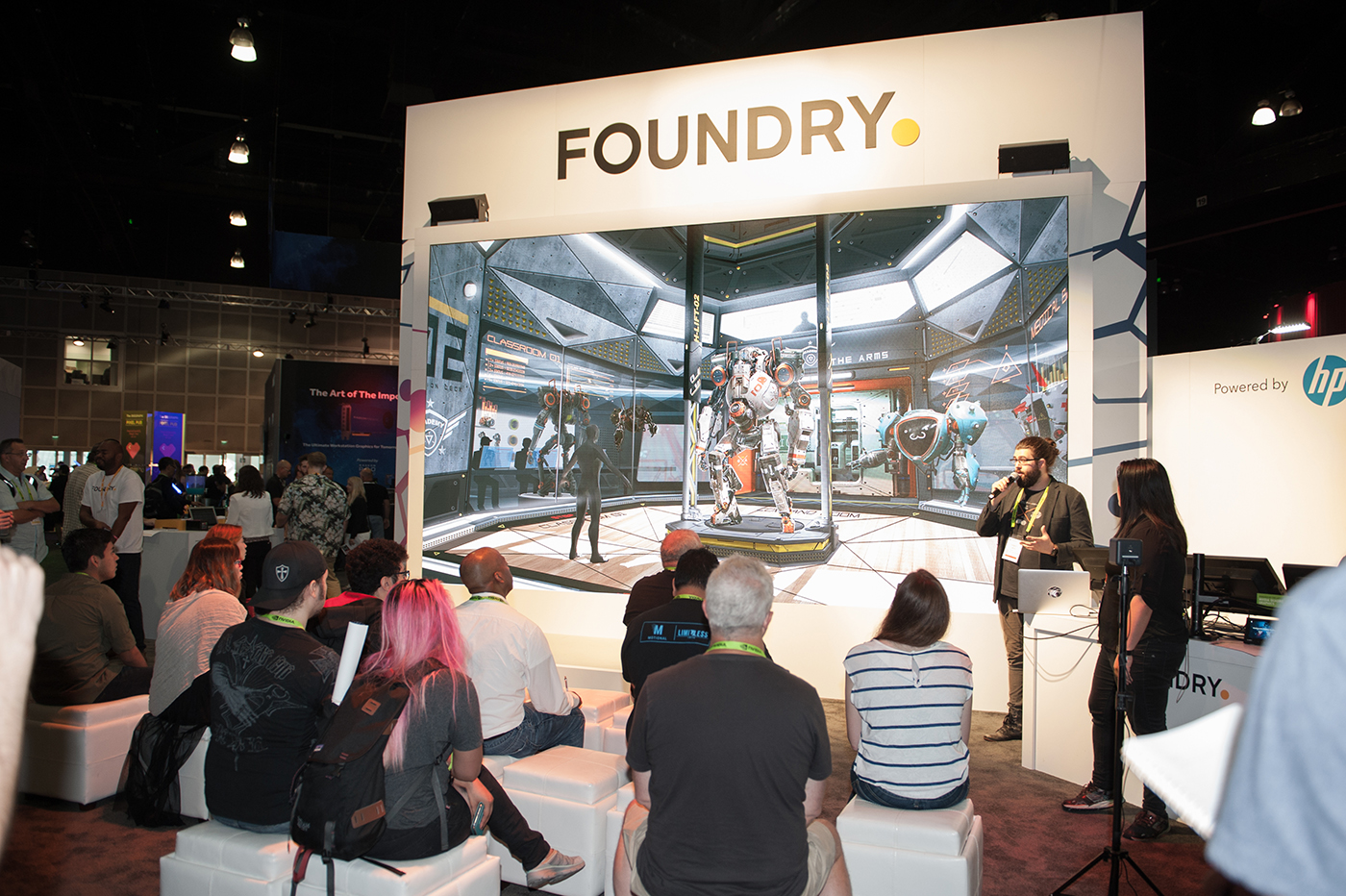 Siggraph Foundry Booth