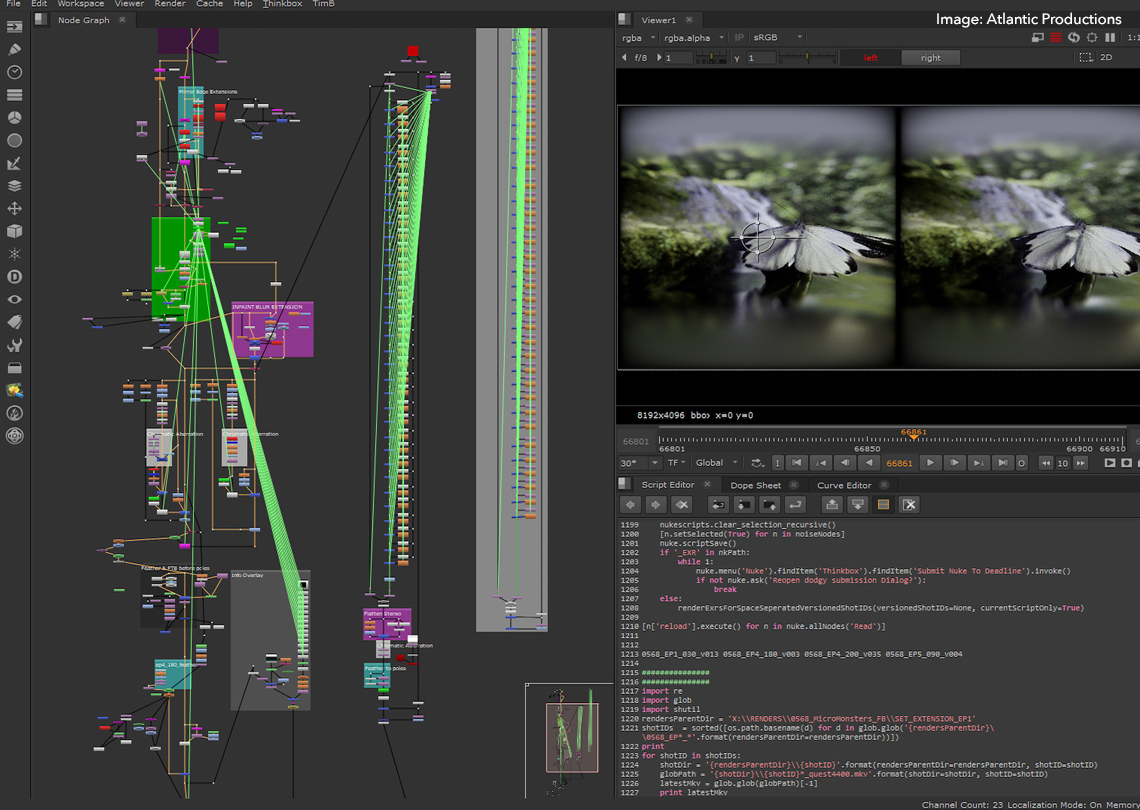 Compositing Micro Monters in Nuke