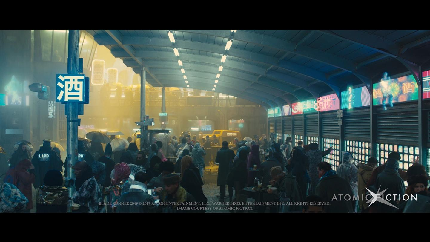 Deep compositing in Blade Runner