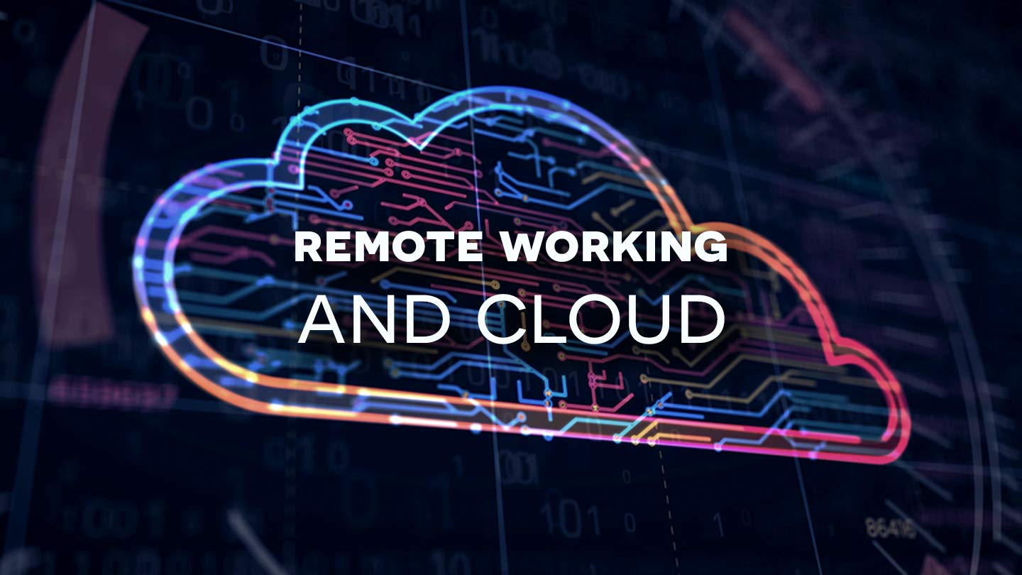 Remote work and cloud image