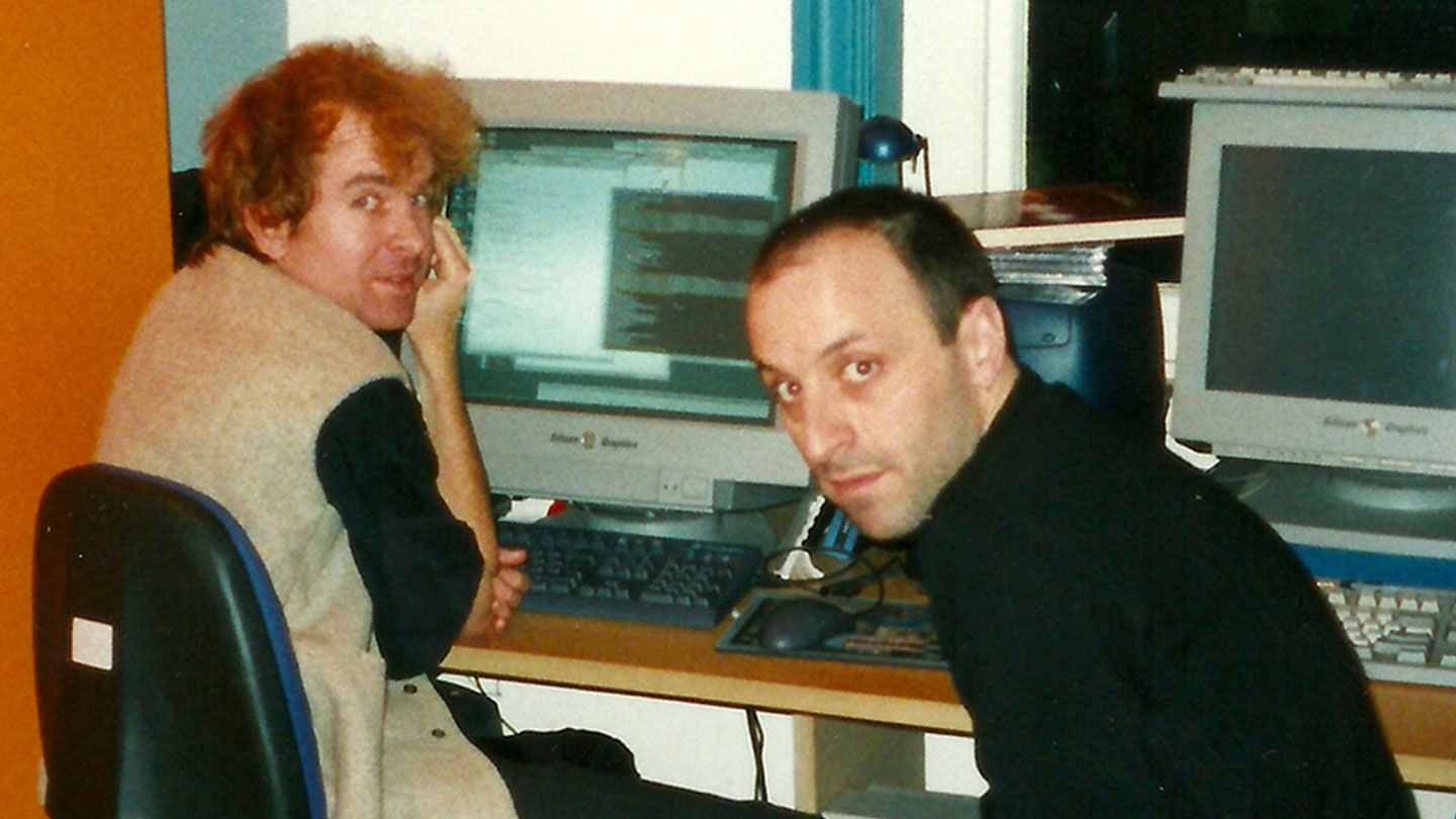 Foundry Founders Simon Robinson and Bruno Nicoletti
