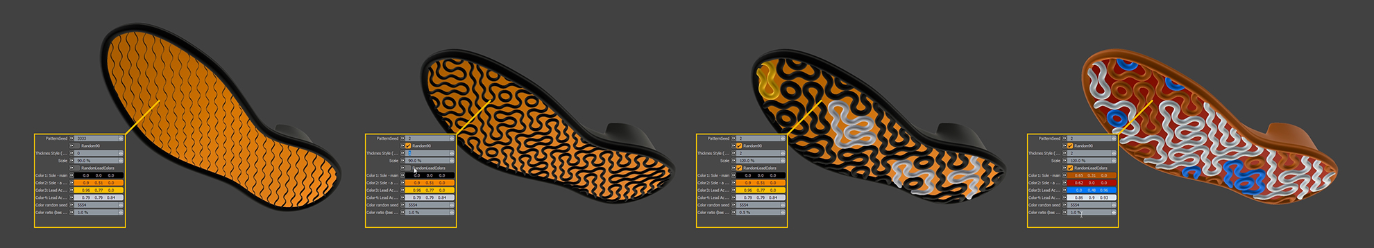 using procedural modeling to instantly generate tooling forms