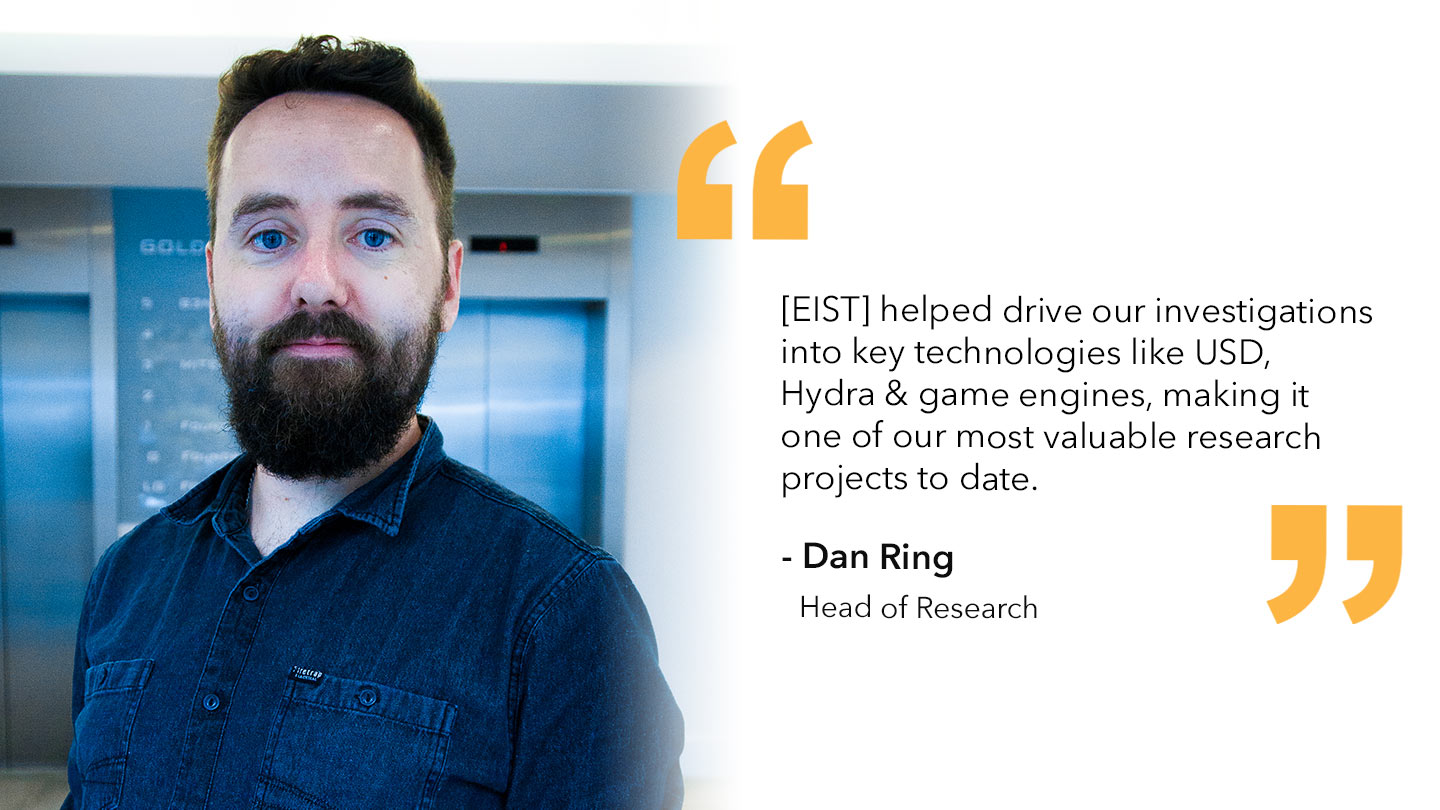 Quote from Dan Ring, Foundry's Head of Research