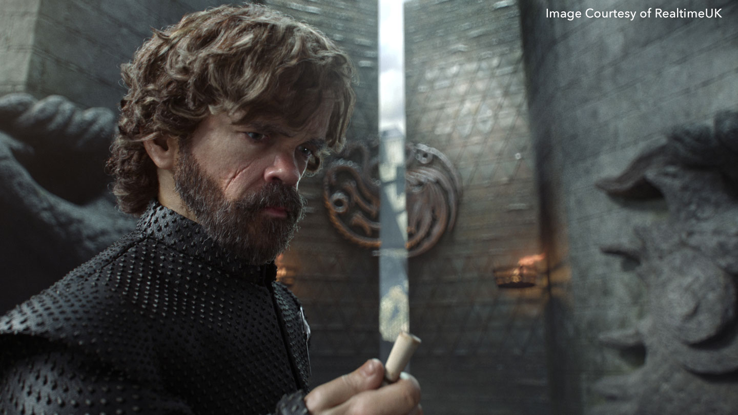 Tyrion Lanister rendered
