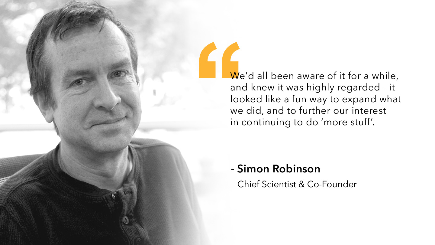 Simon Robinson, Foundry of Foundry quote