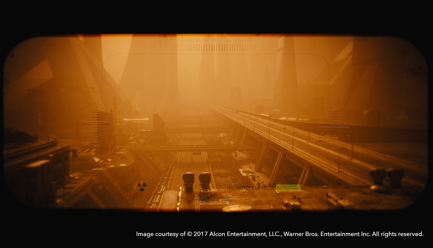 Desert roads in Blade Runner 2049