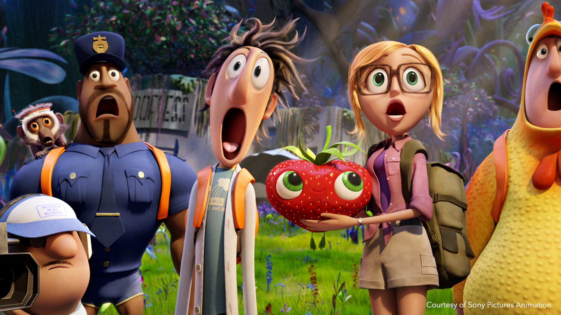 Family CGI movie Cloudy with a chance of meatballs is a success thanks to Flix