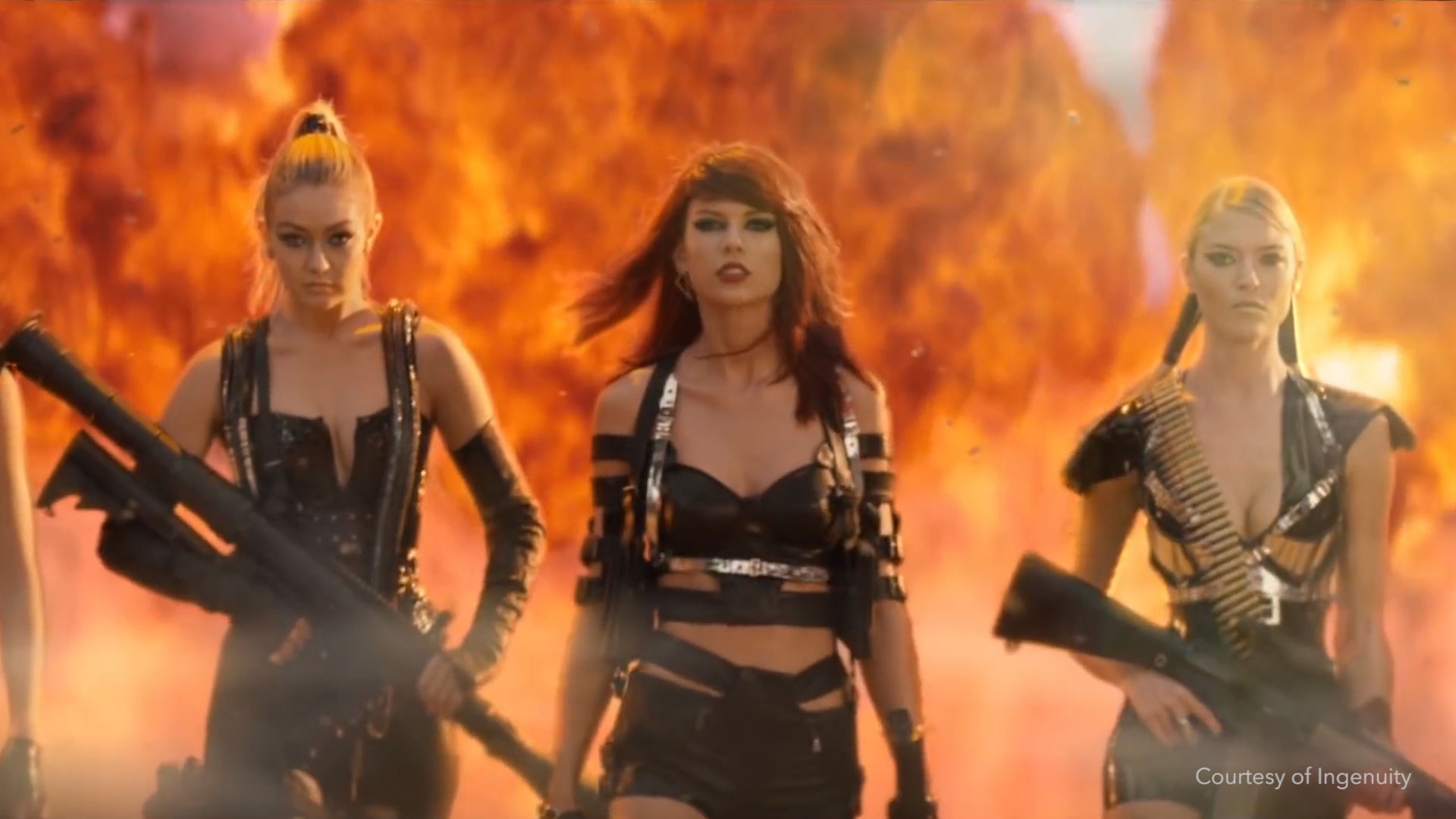 Creating 3D Bad Blood with Taylor Swift