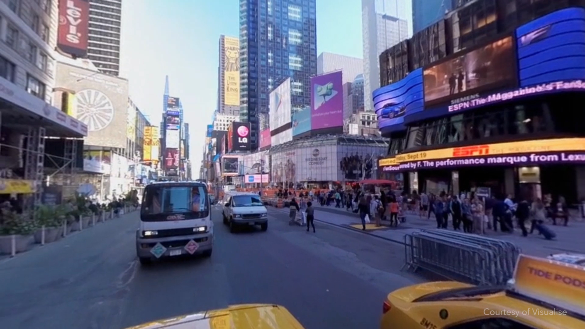 Stitching New York together for a VR tour of the city