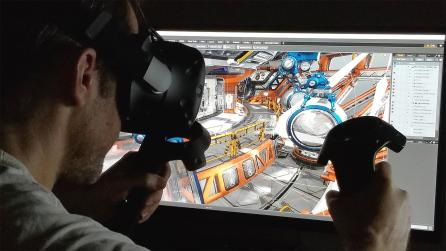 Foundry Research in 3D VR