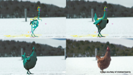 3D chicken breakdown
