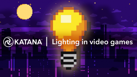 Lighting in Video Games with 8-bit bulb