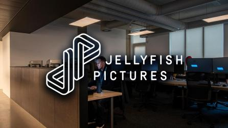 Shot of Jellyfish Pictures office