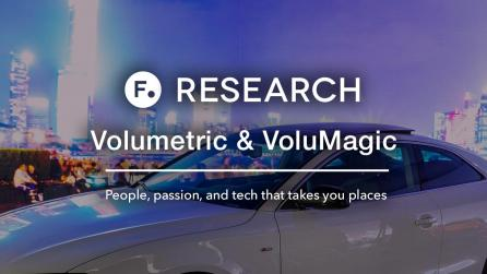 Foundry Research about volumetric image capture