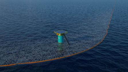 Erwin Zwarts environmental proposal project uses 3d visualisation to clean up the oceans