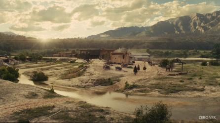 Showcasing invisible visual effects in film with Nuke for The Magnificent Seven