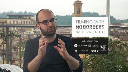 No Borders 360 VR post-production