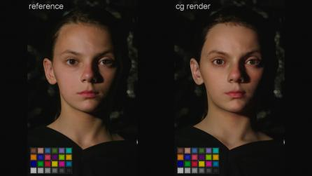 X-23 Logan's daughter in 3d rendering