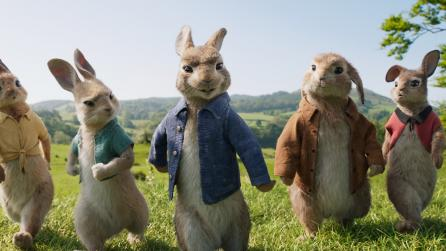 Nuke and Mari help in creating visuals for Peter Rabbit
