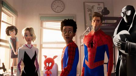 inot spiderverse team