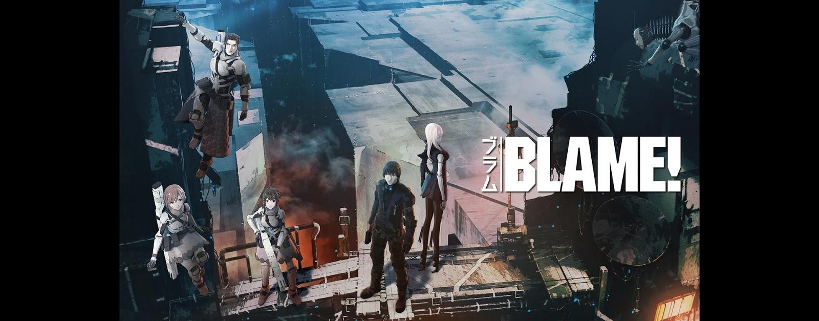 Screenshot from Polygon Pictures BLAME animation
