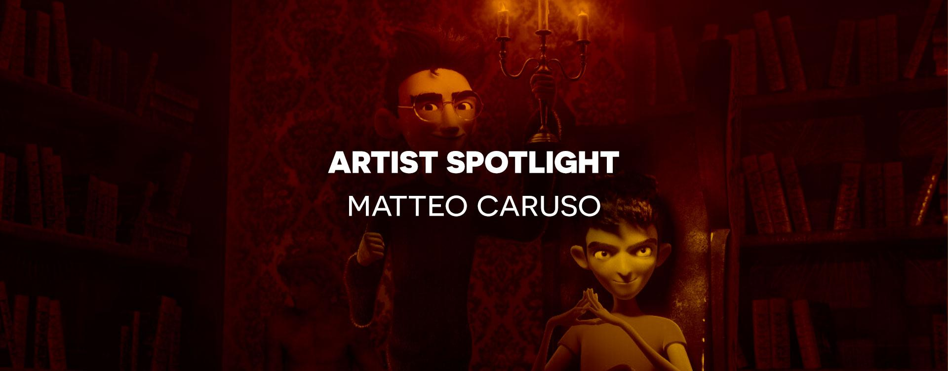 3D CG characters by animation lighter Matteo Caruso