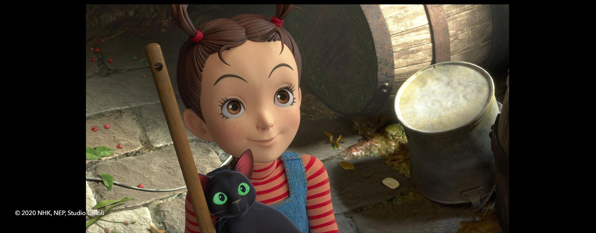 3D CG character from Earwig and the Witch