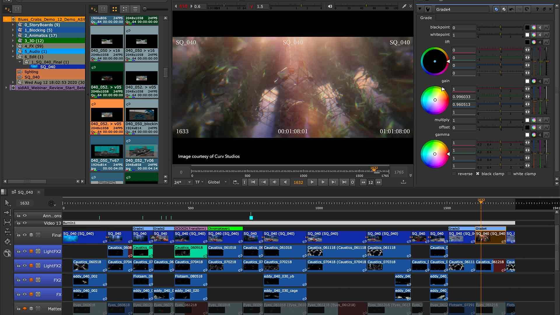 Easily manage multi-shot workflows