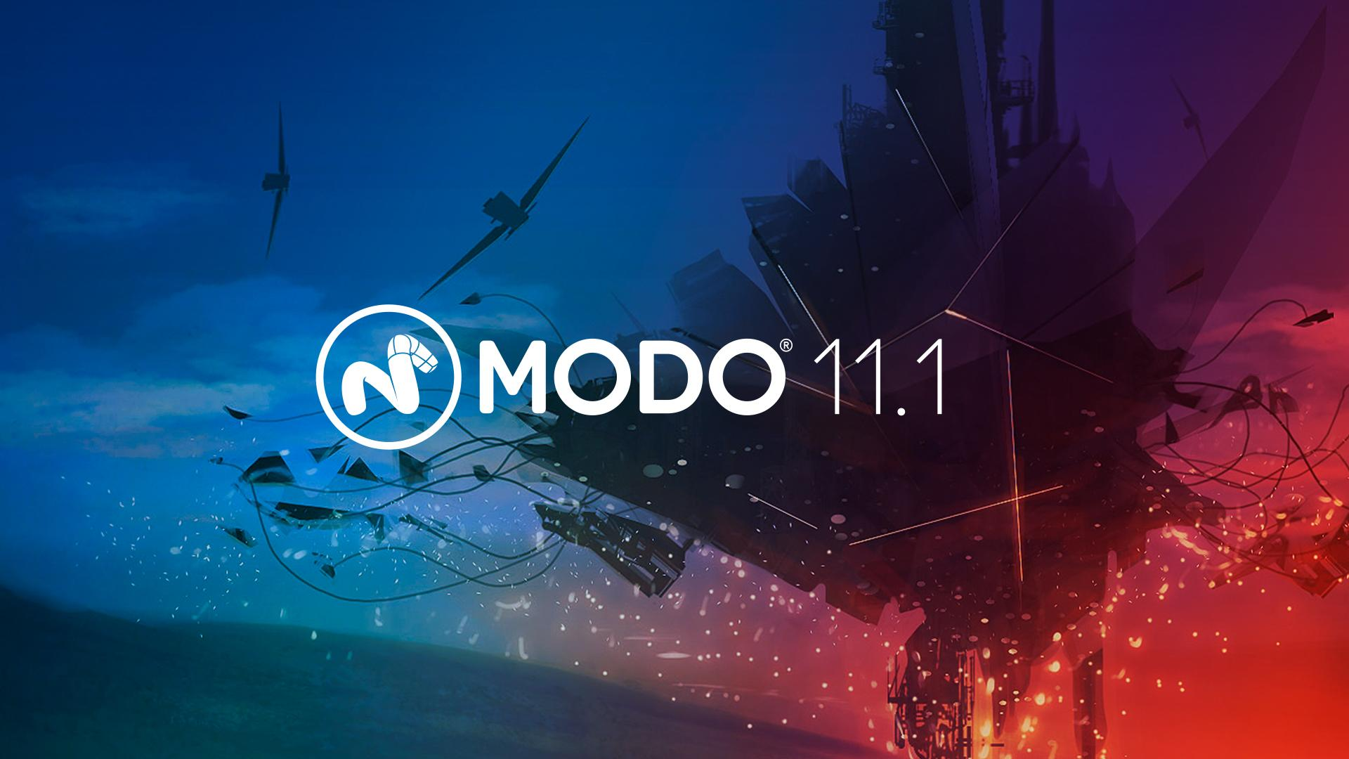 Modo 11.1 latest 3d modeling software from Foundry