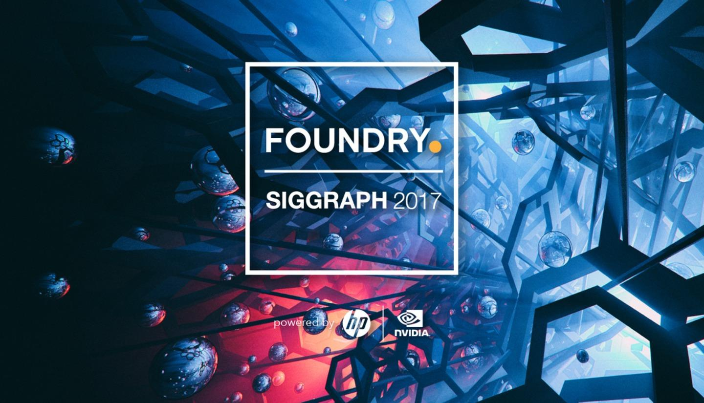 Siggraph 2017 all starts event