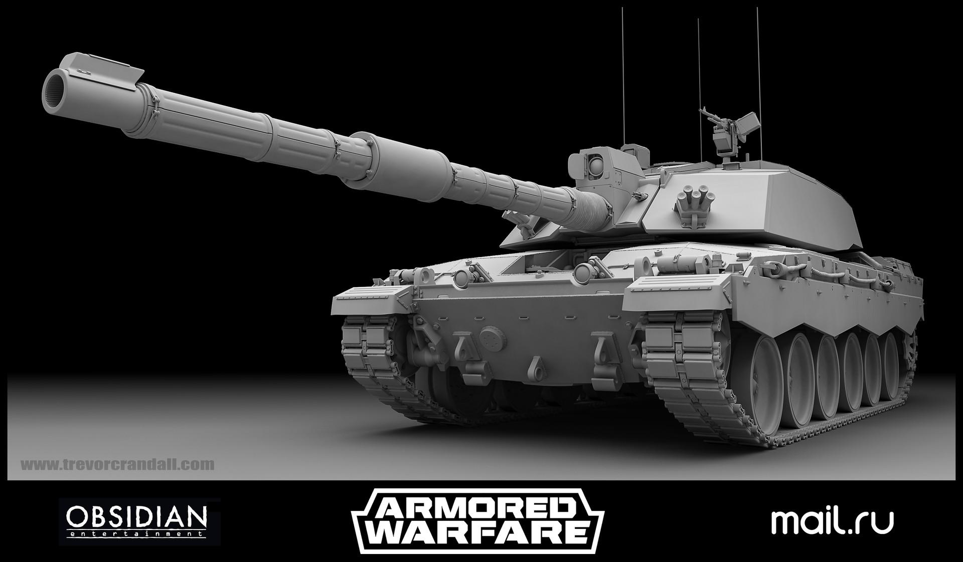 3d modeling tank high res angle with Modo