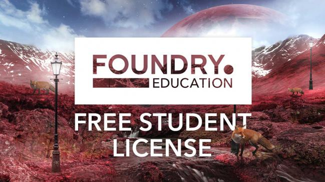 Foundry free Student license