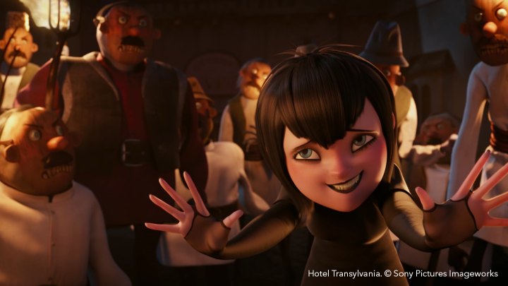 Flix collaborative storyboarding for animation on Hotel Transylvania after