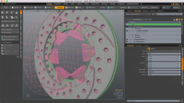 Workflow enhancements improved for Modo 11