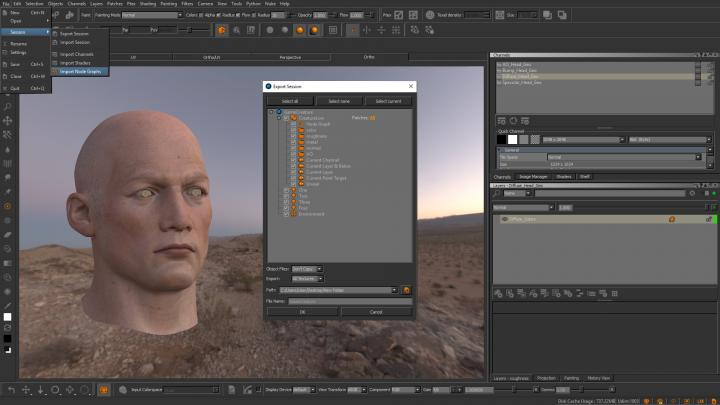 Mari texturing software for students and educators is part of the Production Collective
