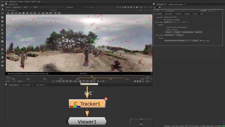 Tracker in Cara VR 2.0