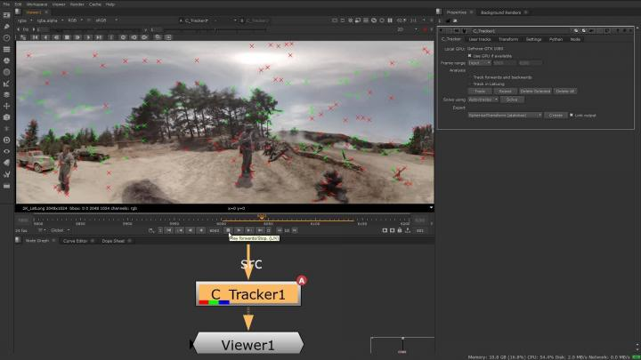 360° tracking and stabilization for virtual reality production is out-of-the-box with Cara VR software