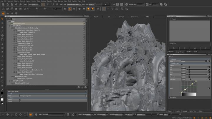 Mari Features | 3D Texture Painting | Foundry