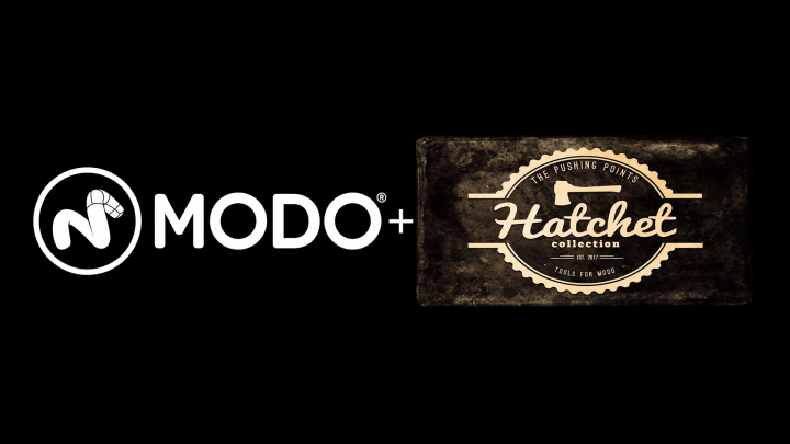 Hatchet collection in Modo 12.0