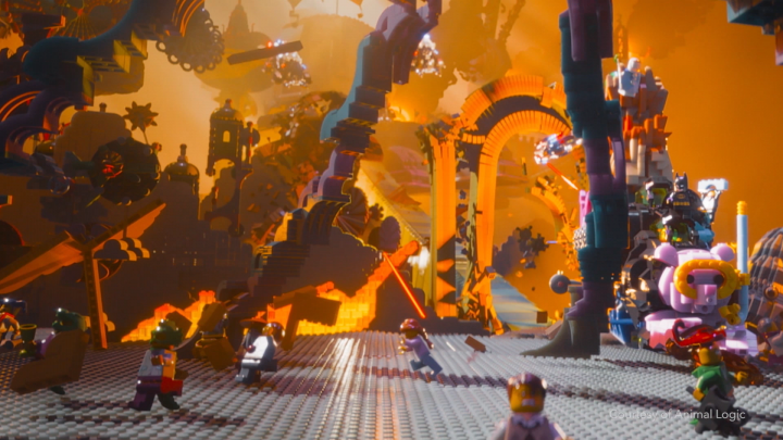 Animal logic for The Lego Movie from Warner Bros.