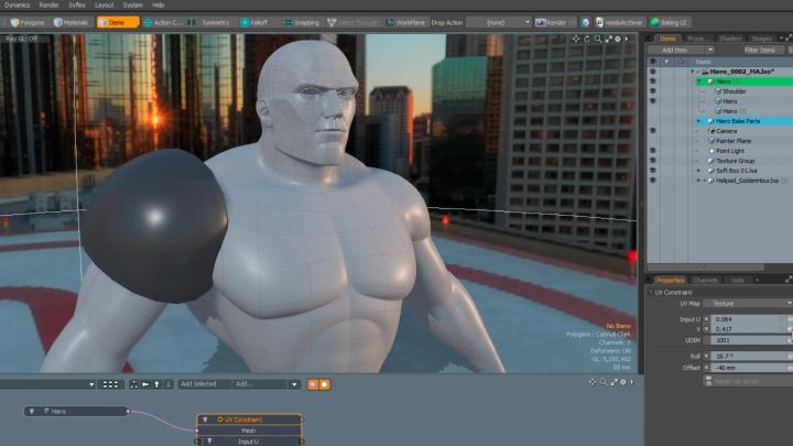 Push 2D to 3D with Modo's new updates
