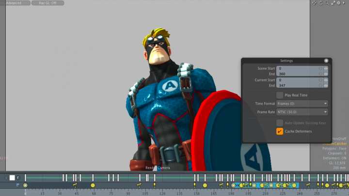 3D animation software Modo 10.2 updates