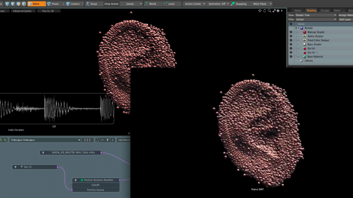 Modo is able to use powerful effects tools on your 3d models