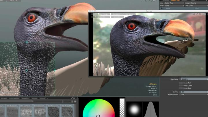 Modo, powerful shading and modeling tool for 3D animation and design
