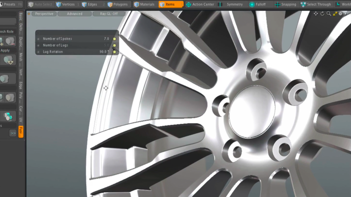 Procedural Modeling makes Modo the best 3d software on the market