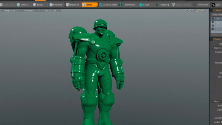 MeshFusion updates mean faster and easier 3D modeling in Modo