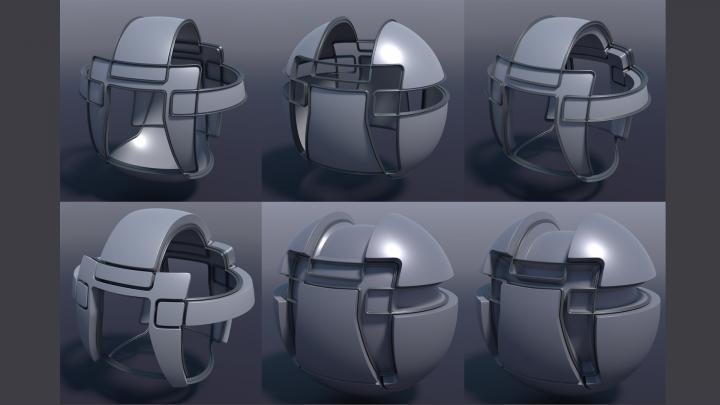 Mesh Fusion Surface Strips in Modo 12.0