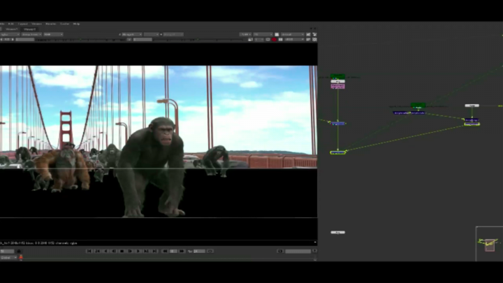 Deep image compositing in Nuke creates a faster workflow