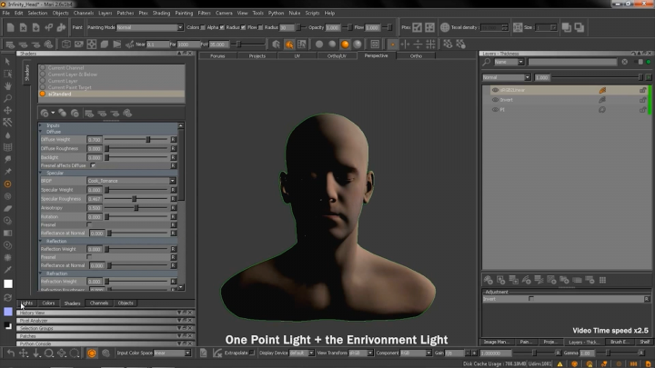 Arnold, V-Ray, Unreal and Redshift shaders