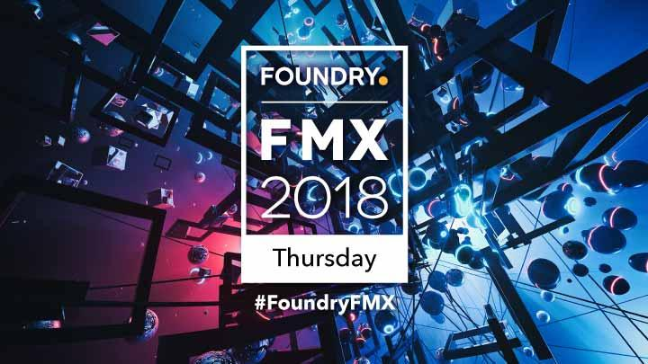 FMX 2018 Thursday Presentations
